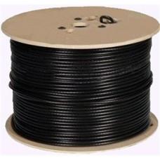 DS-1LC1SCA2C-200B CAB-C6B HIKVISION Καλώδιο CCTV + Power ένα ομοαξονικό COAΧIAL black