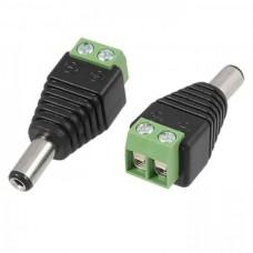 CAB-RC01 POWER CONNECTOR MALE για τροφοδοσία κάμερας 12v