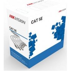 DS-1LN5E-E/E CAB-UTP HIKVISION CAT 5E καλώδιο UTP δικτύου κατηγορία 5e 305m